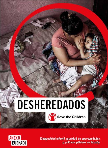 Informe sobre desigualdad infantil, igualdad de oportunidades y políticas públicas. Anexo Euskadi.