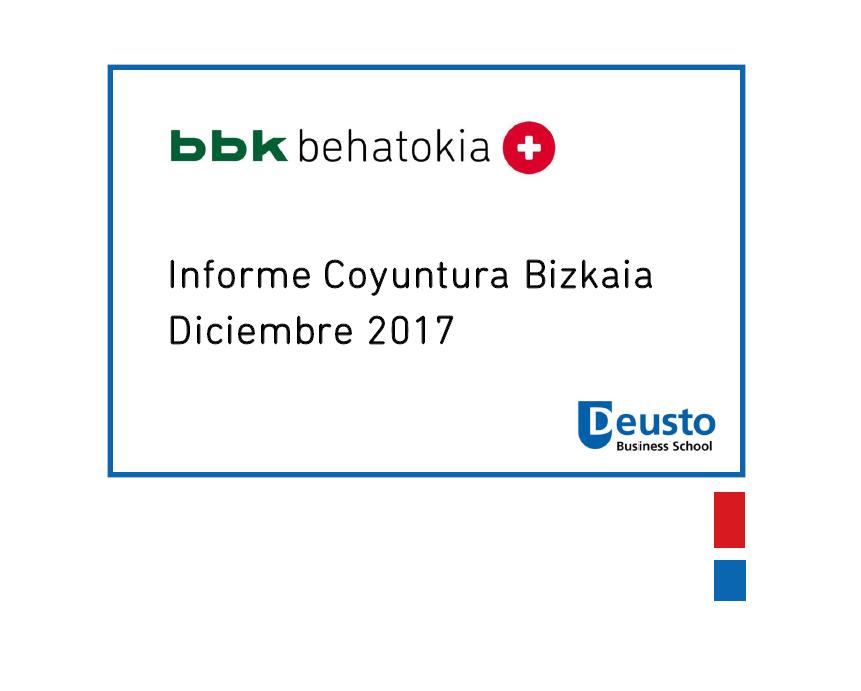 Informe de Coyuntura de Bizkaia tercer Trimestre. 2017 un buen año,  2018 un año para mejorar.