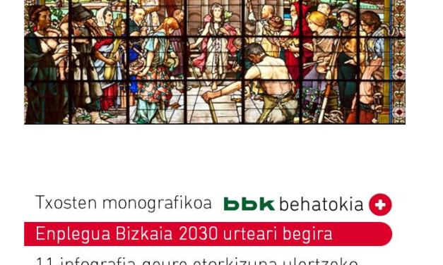 Txosten monografikoa: Enplegua Bizkaia 2030 urteari begira, 11 infografia geure etorkizuna ulertzeko