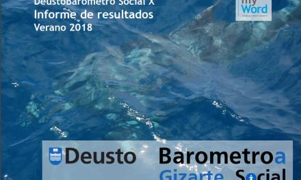 DeustoBarómetro Social, Verano 2018