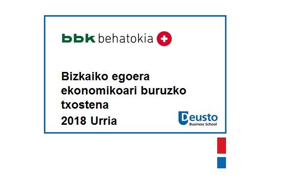 Abaguneko txostena-2018ko Urria: Bizkaiko hazkunde ekonomikoan moteltze zantzuak azaltzen ari dira
