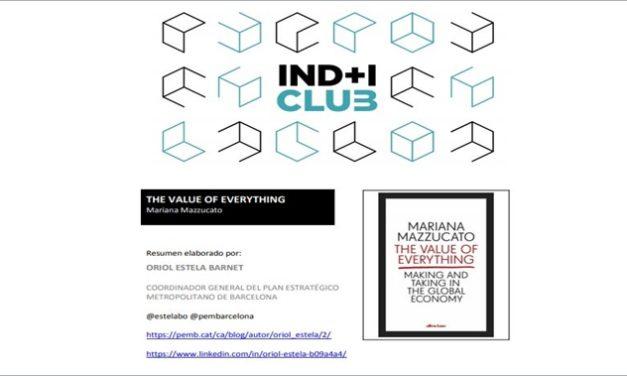Reseña de libro: «The value of everything» de Mariana Mazzucato @MazzucatoM