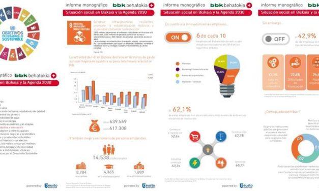 Bizkaia y los Objetivos de Desarrollo Sostenible: Infografía ODS nº 9