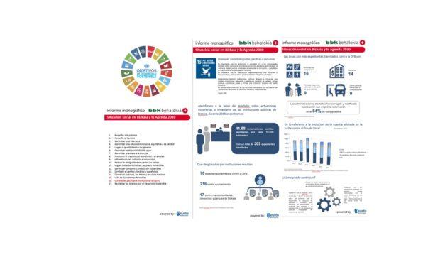 Bizkaia y los Objetivos de Desarrollo Sostenible: Infografía ODS nº 16