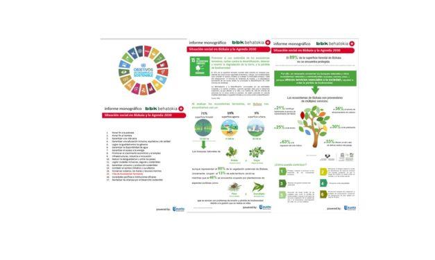 Bizkaia y los Objetivos de Desarrollo Sostenible: Infografía ODS nº 15
