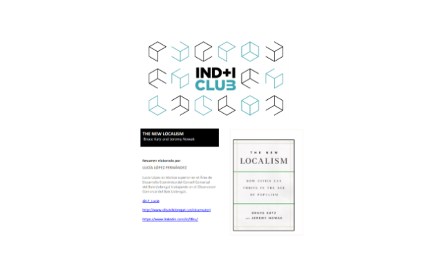 Reseña de libro: «The new localism» de Bruce Katz & Jeremy Nowak