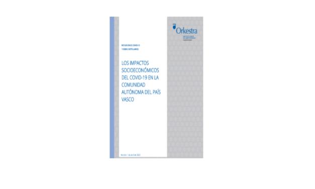 Los impactos socioeconómicos del COVID-19 en la Comunidad Autónoma del País Vasco