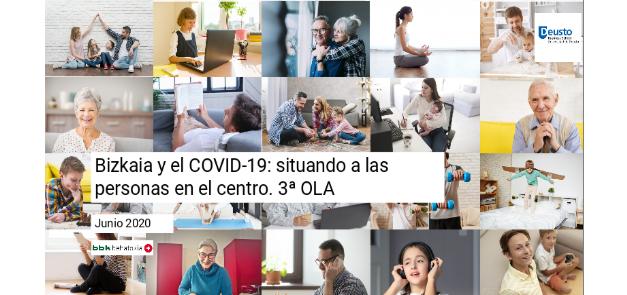 Encuesta de percepción ciudadana sobre COVID 19 en Bizkaia. 3ª ola