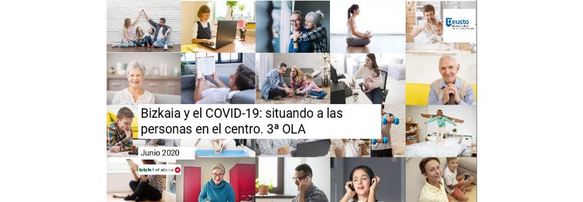 COVID 19-ren inguruko herritarren pertzepzioari buruzko inkesta Bizkaian. 3. bolada