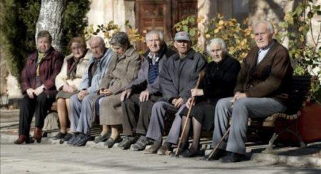 Número de personas mayores de 65 años