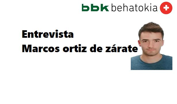 Entrevista jóvenes del futuro: Marcos Ortiz de Zárate