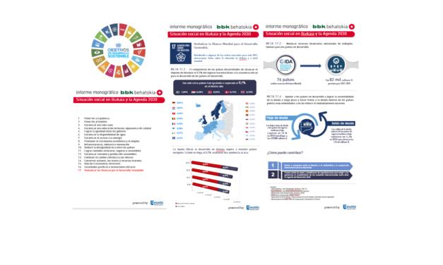Situación social en Bizkaia y la Agenda 2030, Metas ODS nº 17