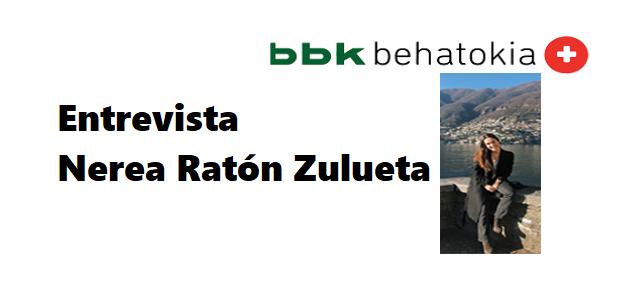 Entrevista jóvenes del futuro: Nerea Ratón Zulueta