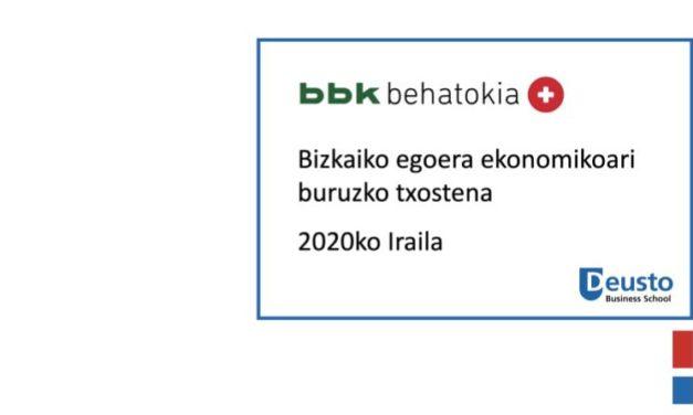 Bizkaiko egoera ekonomikoari buruzko txostena – 2020ko iraila: ziurgabetasuna kutsatuen bigarren olatu honen eragin errealaren aurrean