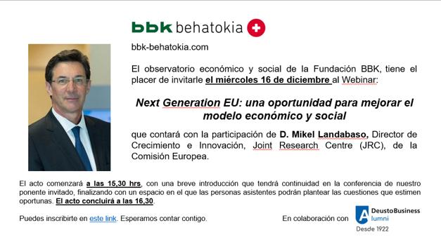 Next Generation EU: Una oportunidad para mejorar el modelo económico y social