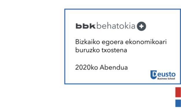 Bizkaiko egoera ekonomikoari buruzko txostena – 2020ko abendua:  Industriaren berreskurapenaren erronkak markatuko du euskal agenda ekonomikoa 2021ean
