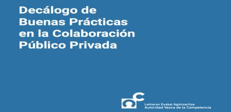 Decálogo de Buenas Prácticas en la Colaboración Público Privada