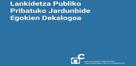 Lankidetza publiko-pribatuko jardunbide egokien dekalogoa